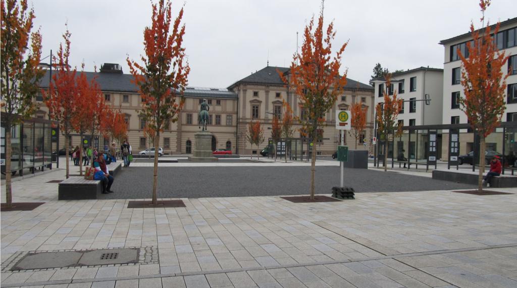 Projekte Sigmaringen Bus Foto Leopoldplatz