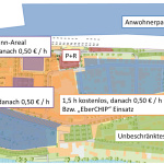 Project Ebersbach: Parking-spaces Areas