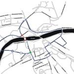 Projekte Sigmaringen Gartenschau Brückensperrung Pkw Umweg