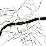 Project Sigmaringen: Pedestrtrian Alternative Routes