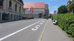 Projekte Sigmaringen Haltestelle Foto Fürst-Wilhelm-Straße