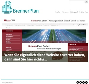 A new BrennerPlan Website is now online: Modern, Innovative, Futuristic