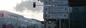 Projekte Kornwestheim Foto Parkleitsystem