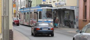 Straßenbahnbeschleunigung Heidelberg