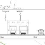 Projekte Heidelberg Konzeption Straßenquerschnitt