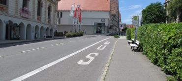 Überprüfung Haltestellenverlegung Sigmaringen