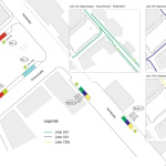 Project Sigmaringen: Central Bus-Stop at Leopoldplatz