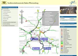 Straßenverkehrszentrale Baden-Württemberg: Onlineservice ausgebaut