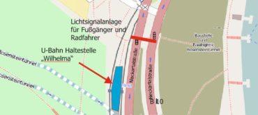 Rad- und Fußgängerzählung in Stuttgart